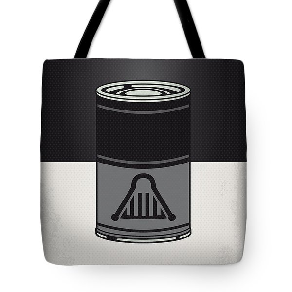 My Star Warhols Darth Vader Minimal Can Poster Tote Bag by Chungkong Art