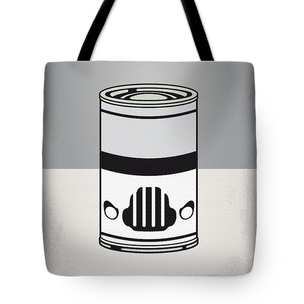 My Star Warhols Stormtrooper Minimal Can Poster Tote Bag by Chungkong Art