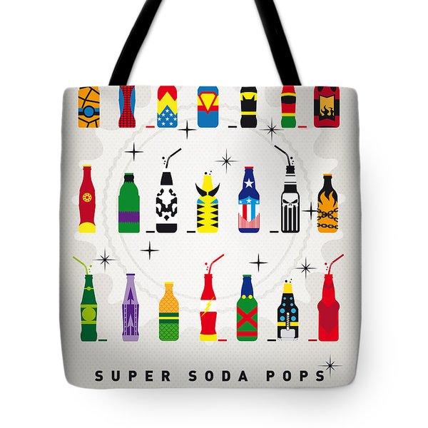 My SUPER SODA POPS No-00 Tote Bag by Chungkong Art