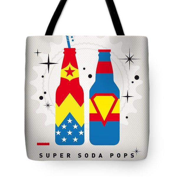 My Super Soda Pops No-06 Tote Bag by Chungkong Art