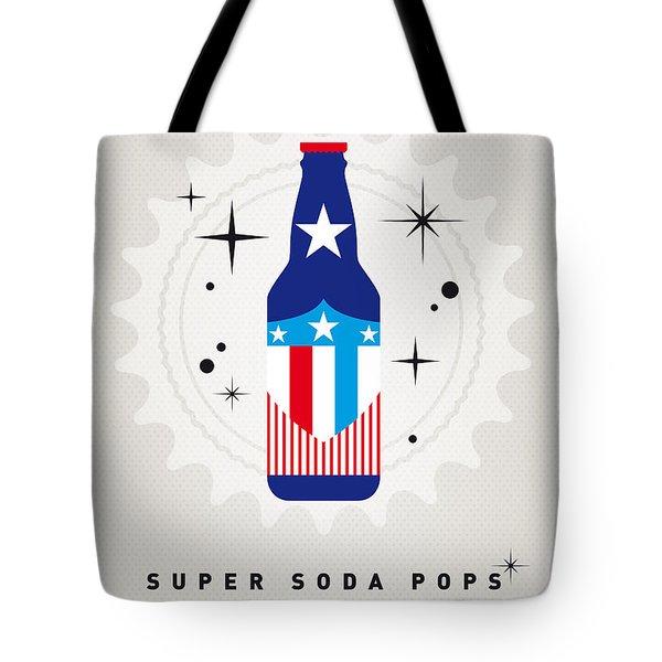 My Super Soda Pops No-14 Tote Bag by Chungkong Art