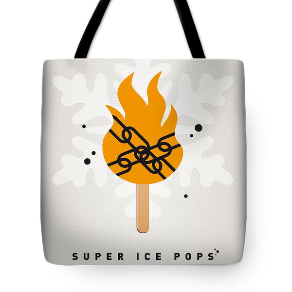 My SUPERHERO ICE POP - Ghost Rider Tote Bag by Chungkong Art