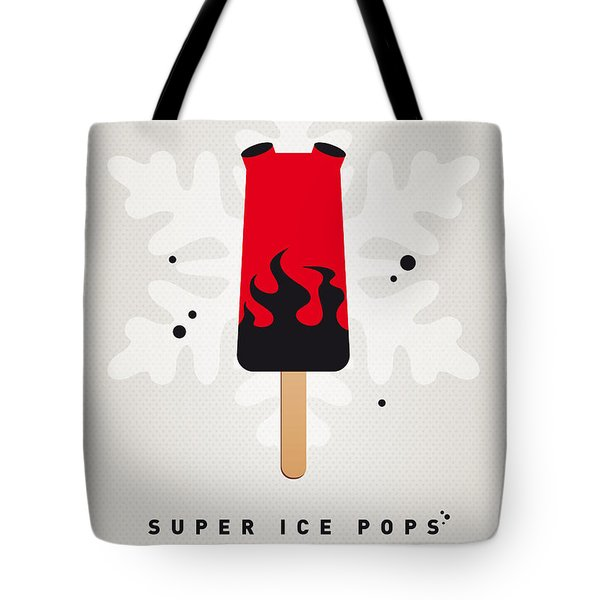 My Superhero Ice Pop - Hellboy Tote Bag by Chungkong Art