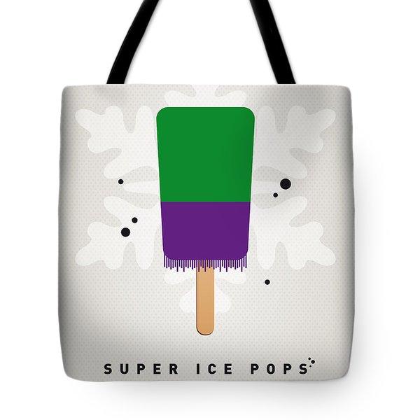 My SUPERHERO ICE POP - The Hulk Tote Bag by Chungkong Art