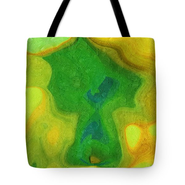 My Teddy Bear - Digital Painting - Abstract Tote Bag by Andee Design