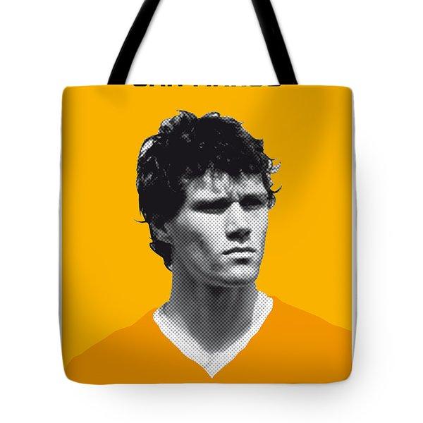 My Van Basten Soccer Legend Poster Tote Bag by Chungkong Art