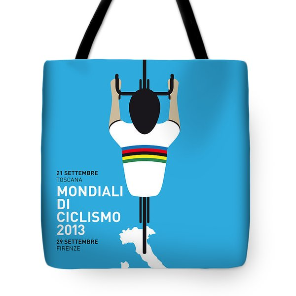 MY World Championships MINIMAL POSTER Tote Bag by Chungkong Art