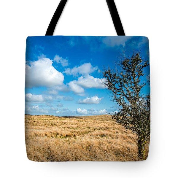 Mynydd Hiraethog Tote Bag by Adrian Evans