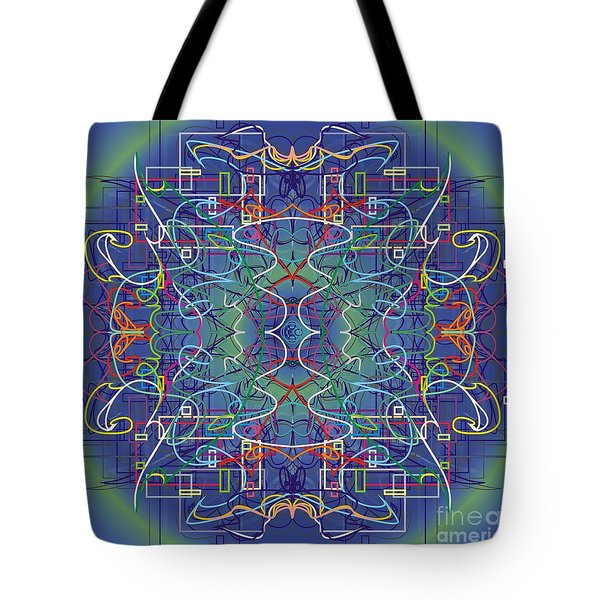 mYSL tHE tHOUGHT Tote Bag by WouX TheBASSement