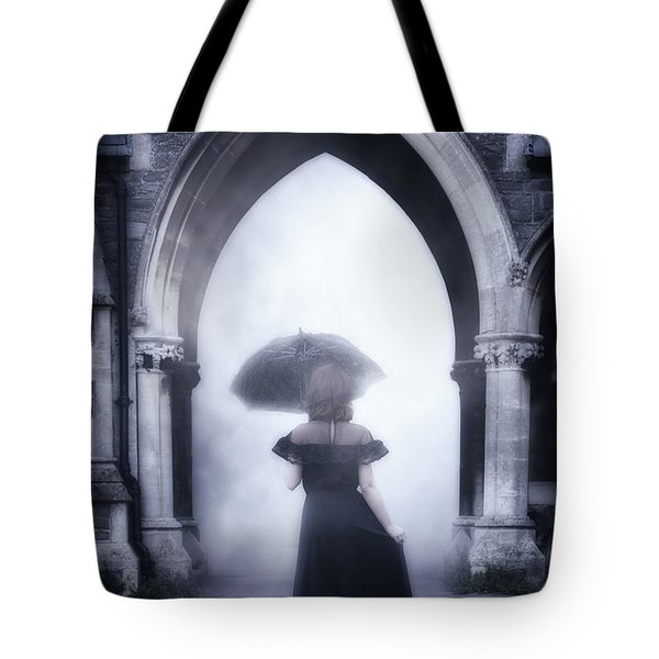 mysterious archway Tote Bag by Joana Kruse