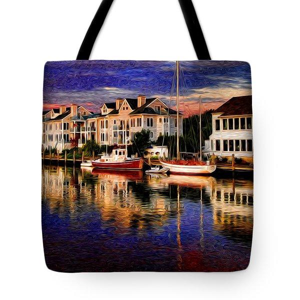 Mystic Ct Tote Bag by Sabine Jacobs