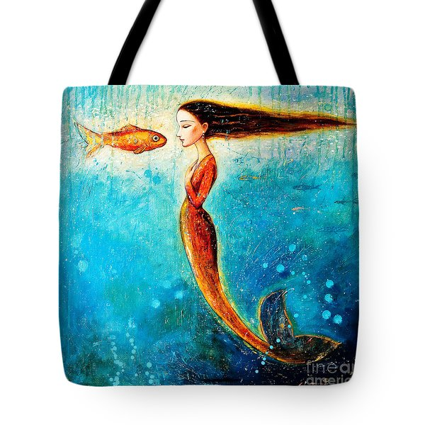 Mystic Mermaid II Tote Bag by Shijun Munns