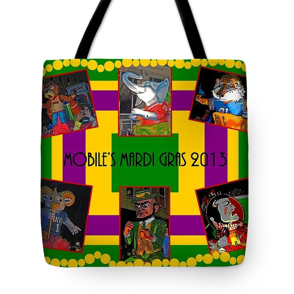 Mystic Stripers Parade Images 2013  Tote Bag by Marian Bell