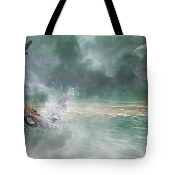 Mystical Beach Tote Bag by Betsy A  Cutler