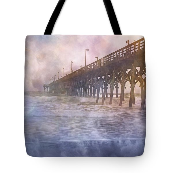 Mystical Morning Tote Bag by Betsy C  Knapp