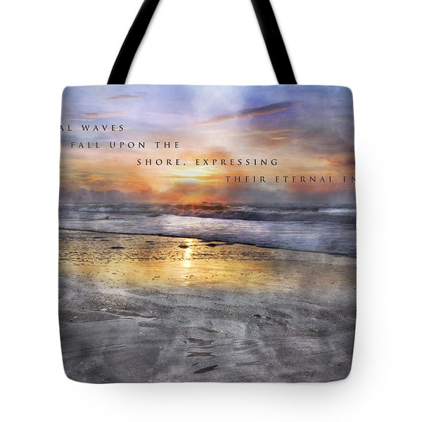Mystical Waves Tote Bag by Betsy C  Knapp