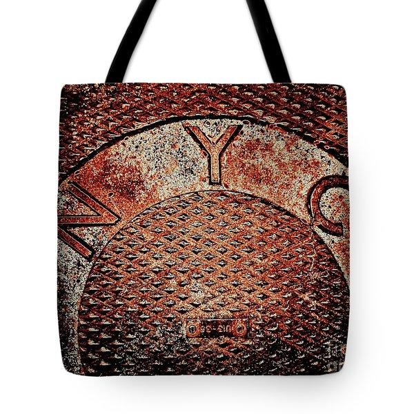 N Y C Tote Bag by Ed Weidman
