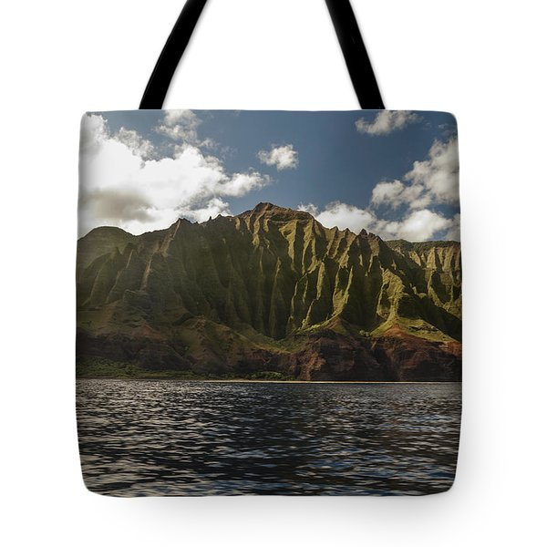 Na Pali Coast Kauai Hawaii Tote Bag by Brian Harig