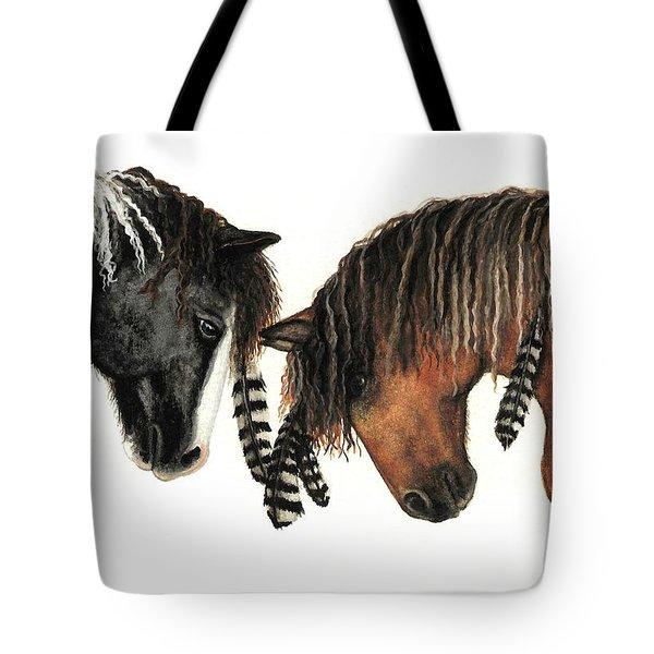 Mustang Series 37 Tote Bag by AmyLyn Bihrle