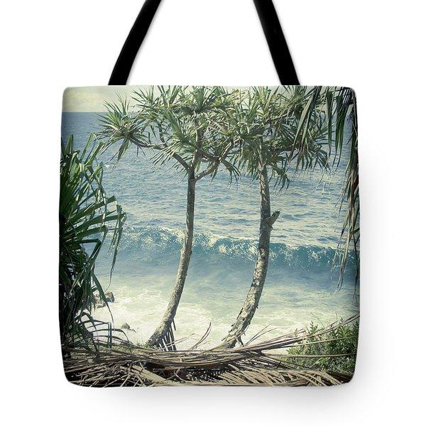 Nahiku - Oli Lei Tote Bag by Sharon Mau