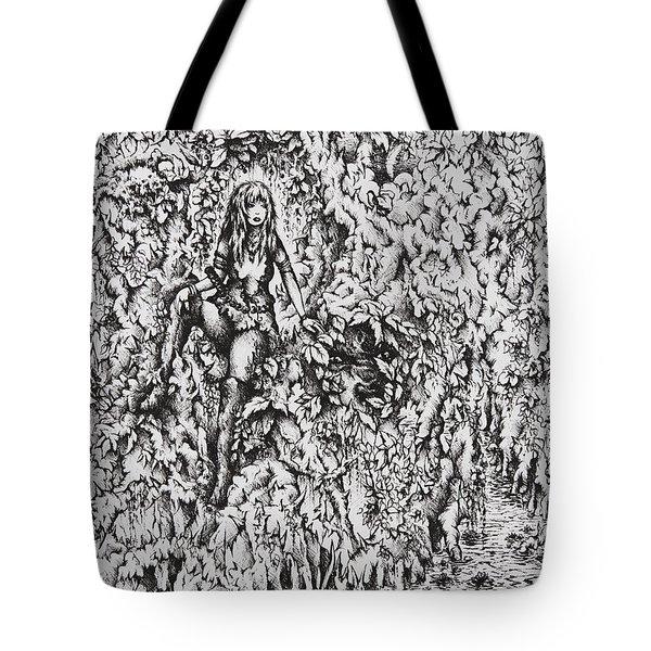 Nan Dungortheb Tote Bag by Rachel Christine Nowicki