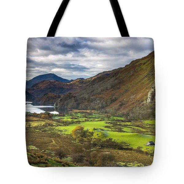 Nant Gwynant Tote Bag by Sebastian Wasek
