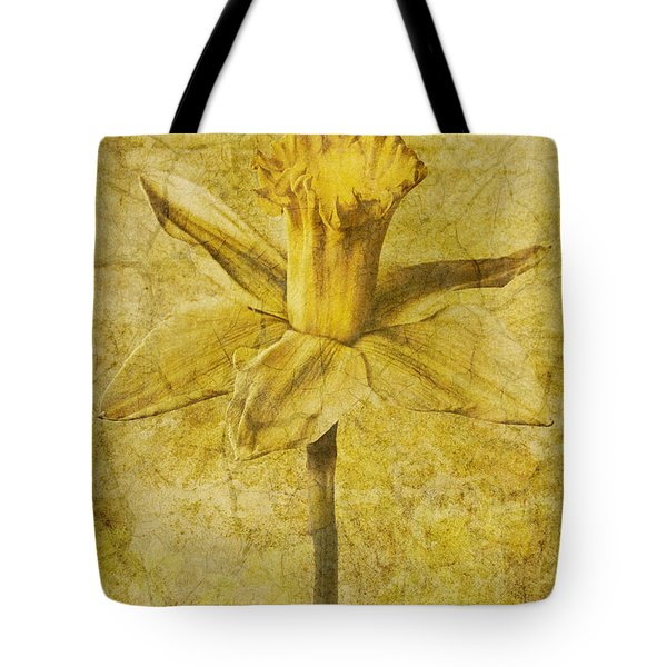 Narcissus Pseudonarcissus Tote Bag by John Edwards