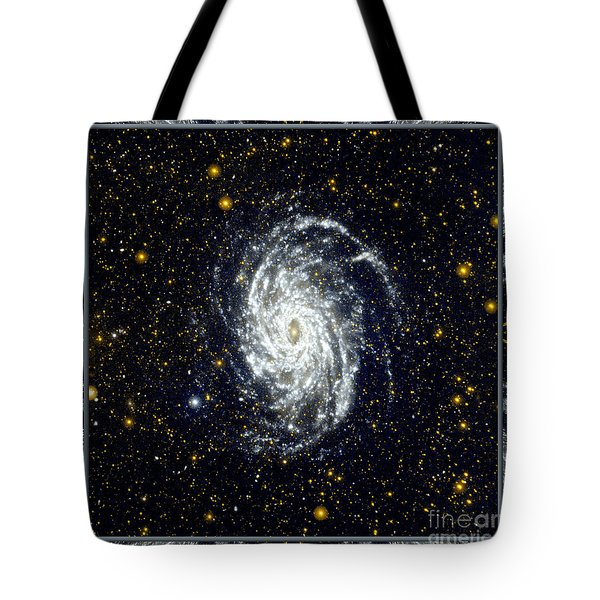 NASA Big Brother to the Milky Way Tote Bag by Rose Santuci-Sofranko