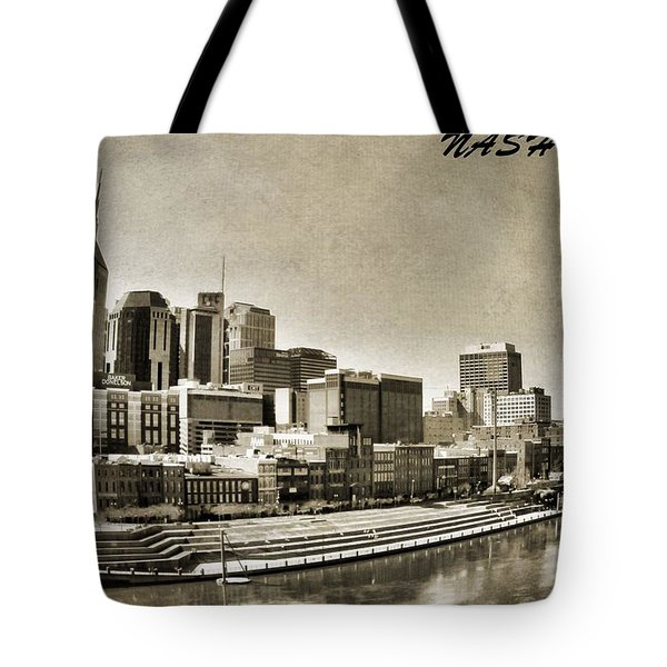 Nashville Tennessee Tote Bag by Dan Sproul