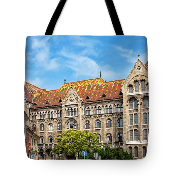 National Archives of Hungary Tote Bag by Artur Bogacki