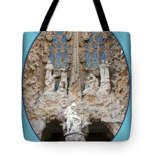 Nativity Barcelona Tote Bag by Victoria Harrington