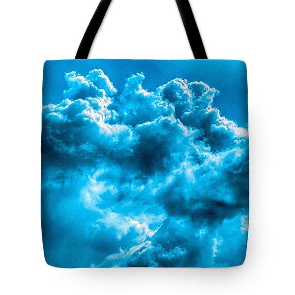 Natural Abstract Creations No 101 Tote Bag by Bob and Nadine Johnston