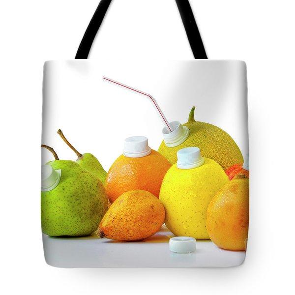 Natural Juice Tote Bag by Carlos Caetano