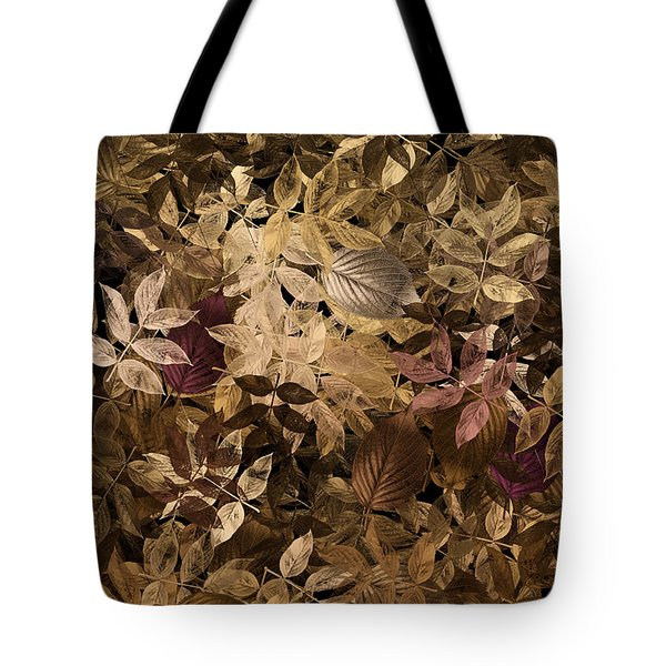 Naturaleaves - Gla02f Tote Bag by Variance Collections