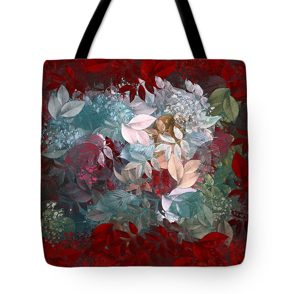 Naturaleaves - s20-03c Tote Bag by Variance Collections