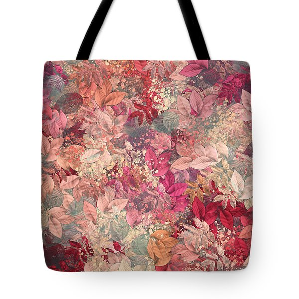 Naturaleaves - s65b Tote Bag by Variance Collections