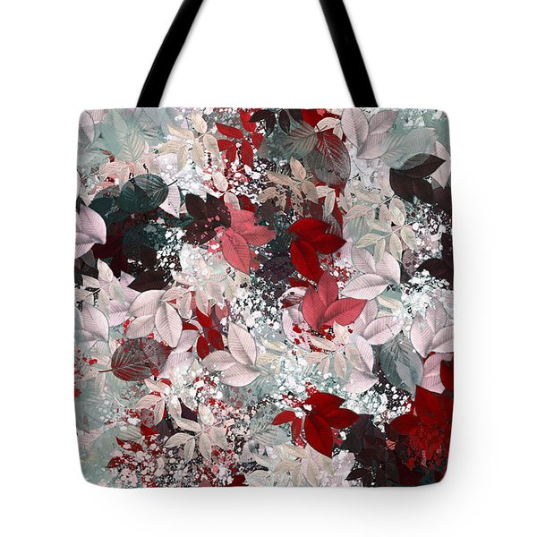 Naturaleaves - S69-02a Tote Bag by Variance Collections