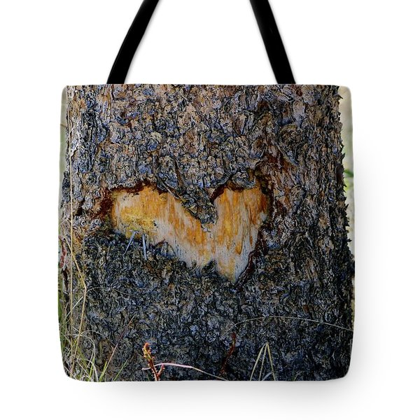 Nature Is In My Heart Tote Bag by Fiona Kennard