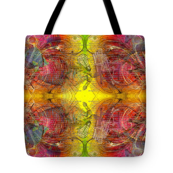 Nature Of Awareness Tote Bag by Betsy Knapp