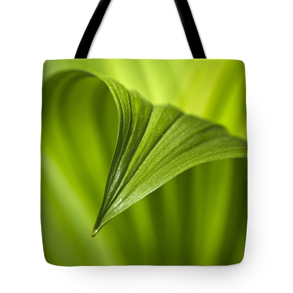 Nature Unfurls Tote Bag by Christina Rollo