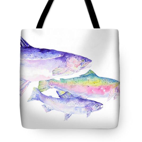 Natures Artwork Tote Bag by Pat Saunders-White