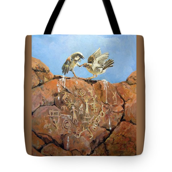 Nature's Fury Tote Bag by Donna Tucker
