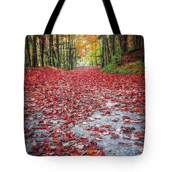 Nature's Red Carpet Tote Bag by Edward Fielding