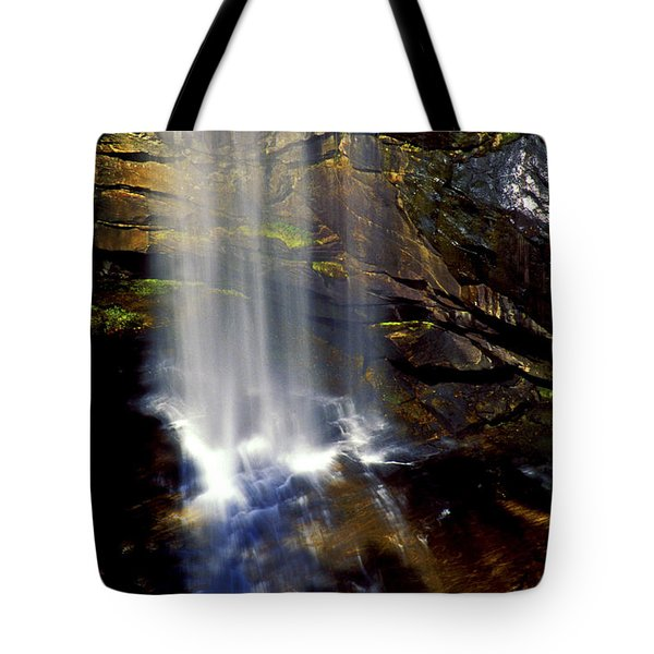 Natures Shower Stall Tote Bag by Paul W Faust -  Impressions of Light