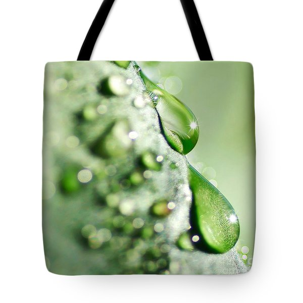 Nature's Teardrops Tote Bag by Kaye Menner