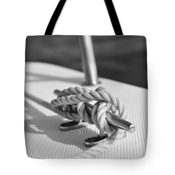 nautical Tote Bag by Laura  Fasulo