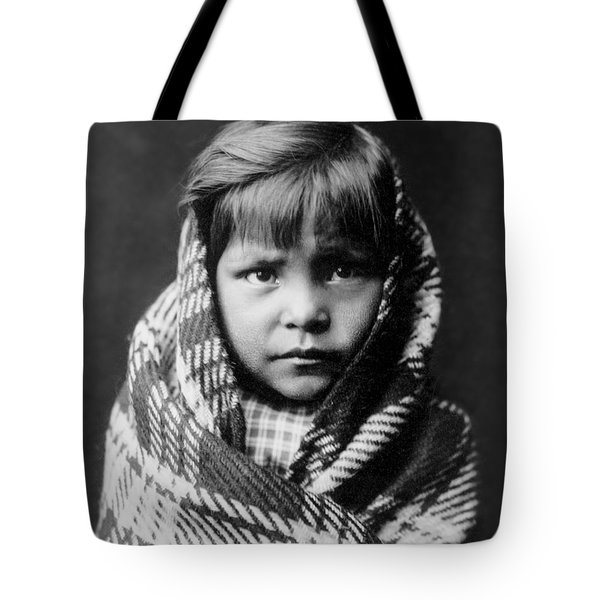 Navajo Child Tote Bag by Aged Pixel
