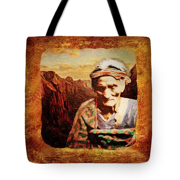 Navajo Triptych  Tote Bag by Lianne Schneider