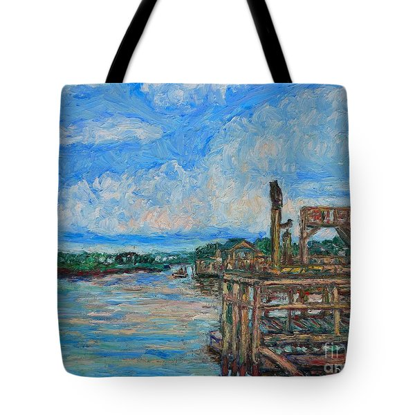 Near Pawleys Island Tote Bag by Kendall Kessler