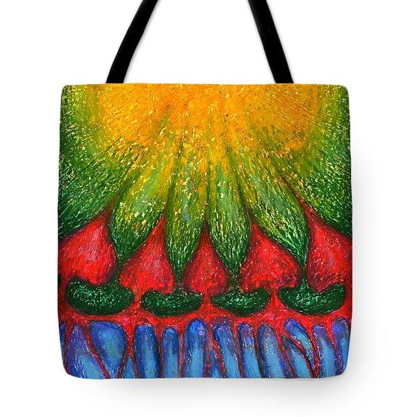Nearer Sun Tote Bag by Wojtek Kowalski